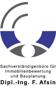 Sachverständigenbüro für immobilienbewertung und Bauplanung Dipl.-Ing. F. Afsin (Logo)
